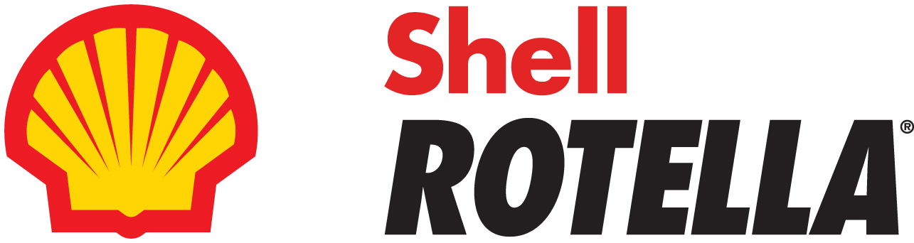 Shell Rotella logo with pectenw